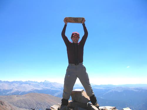Lifting a Chunk of Mt. Kaweah