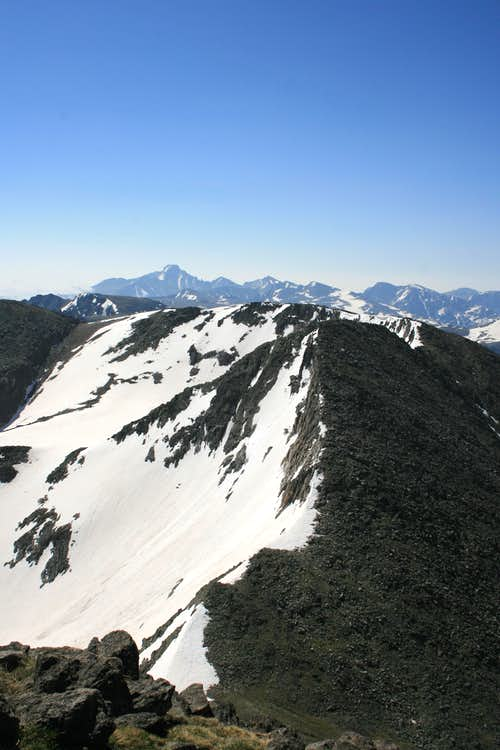 Chief Cheley Peak from Mount Ida