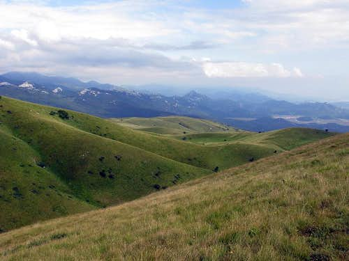 On southern slopes of Grobnik Alps