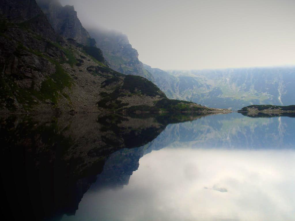 lake below Rysy