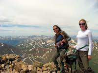 Top of Mt.Elbert