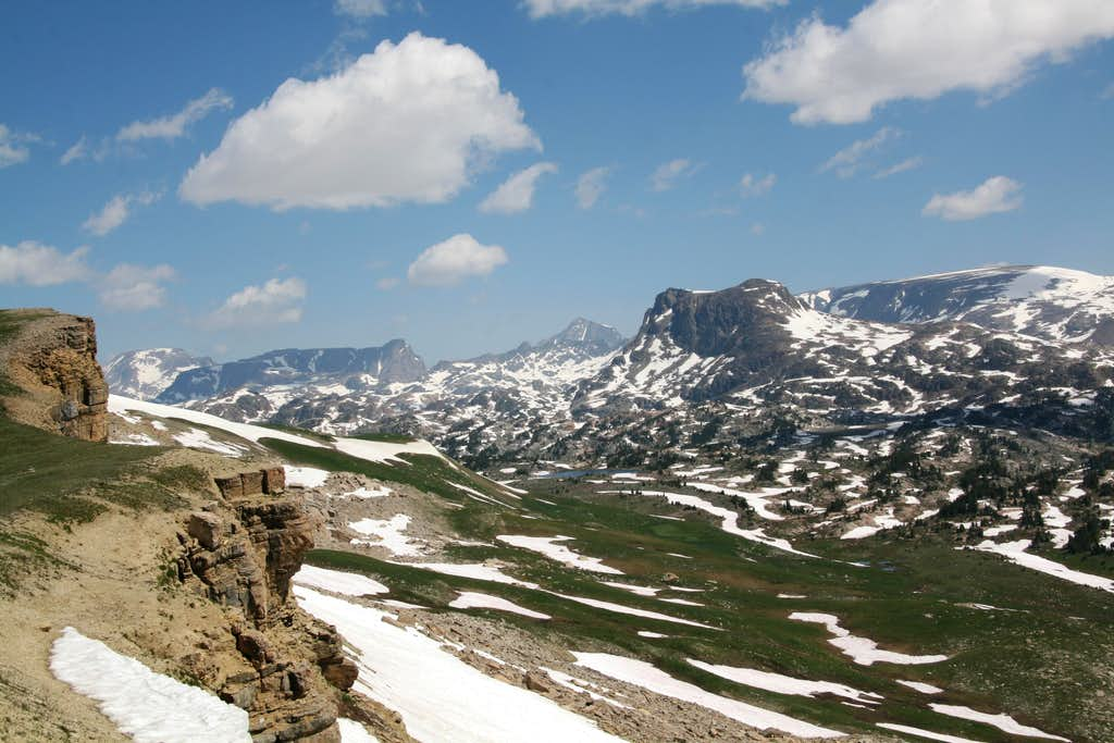 View from Beartooth Butte