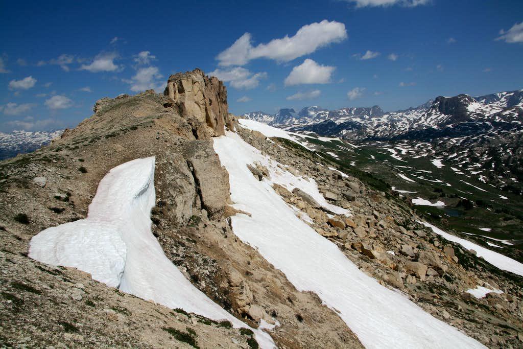 Beartooth Butte-- North Ridge