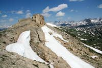 Beartooth Butte-- North Ridge