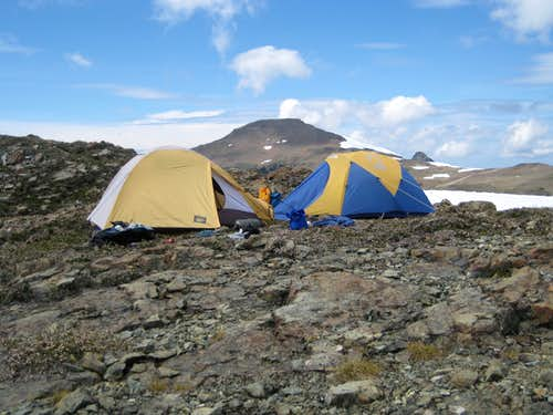 Mt Frink Summit Camp