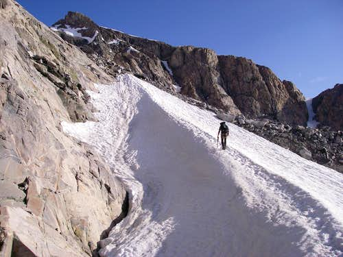 The traverse from Dinwoody to Goosedneck Glacier