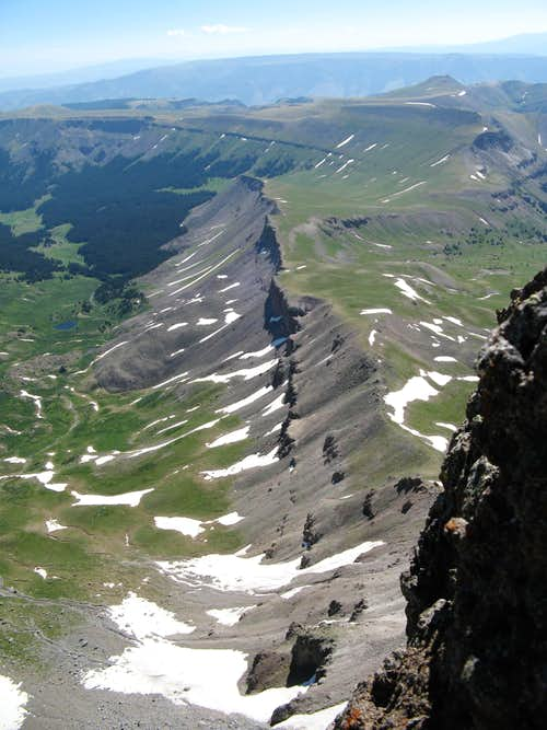 Uncompahgre Peak summit view