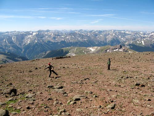 The Great Pastime on the Summit of Uncompahgre