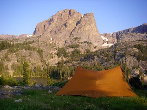 Camp at Double Lake