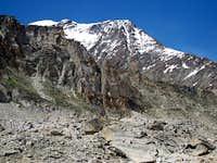 SE Ridge from Almalgeller-Hut