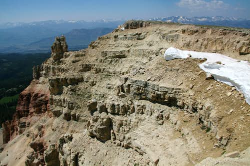 Beartooth Butte-- Summit