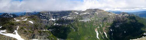 Peak 1931 Summit Panorama
