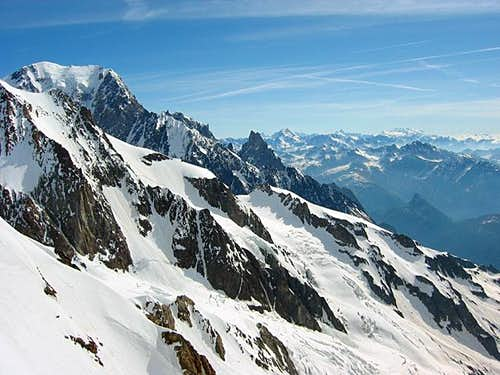 Petit Mont Blanc seen from...