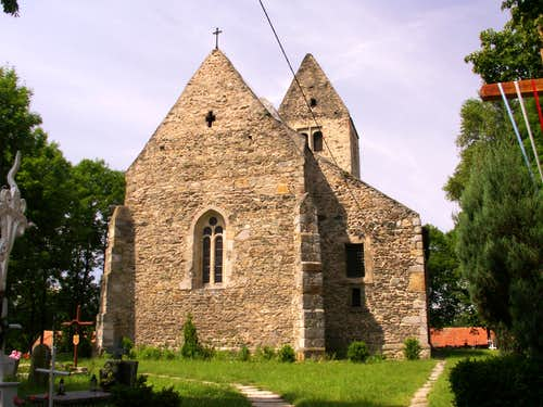 A church in Stary Zamek ...