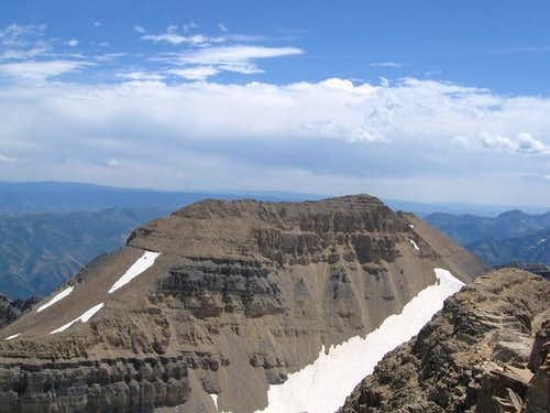 South Timp seen from Timp summit