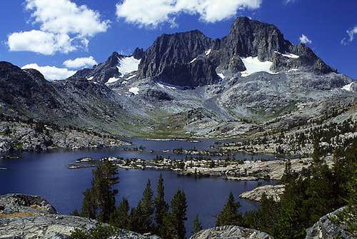Banner Peak and Garnet Lake