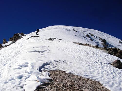 The Final Climb To the Summit