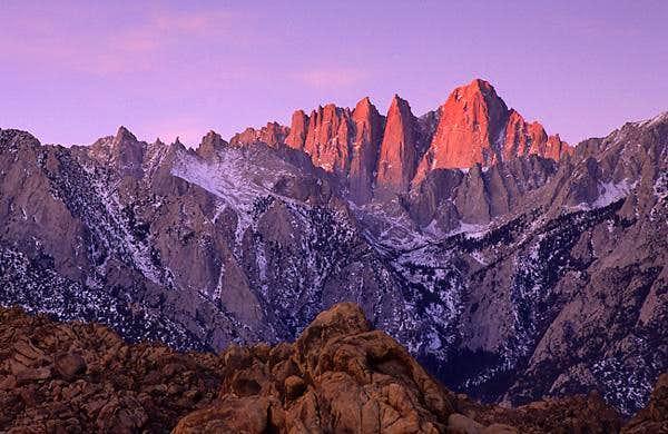Mount Whitney Climbing Hiking Amp Mountaineering Summitpost