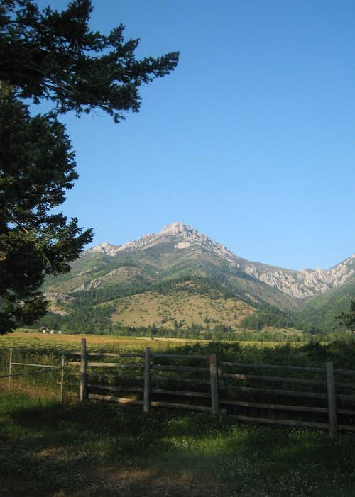 Ross Peak - Bridger Range - From the West