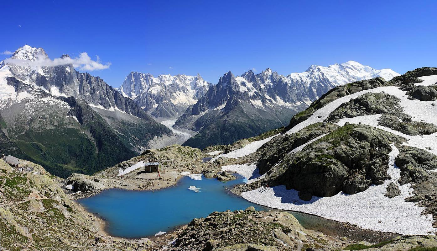 Mont Blanc Massif From Lac Blanc Photos Diagrams