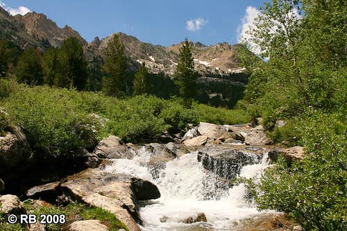 The Rubies and Lamoille Creek