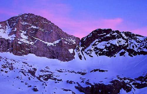 Florence Peak at Sunset