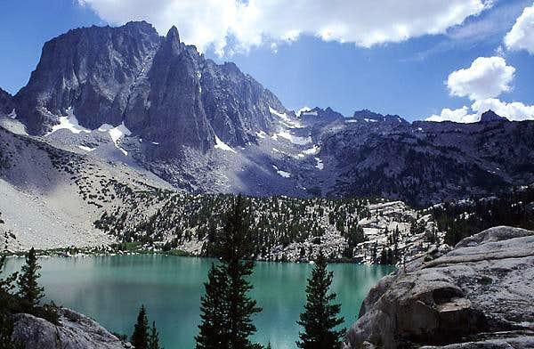 Temple Crag & Second Lake,...