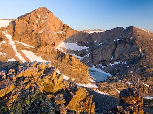 Longs Peak from Meeker Ridge