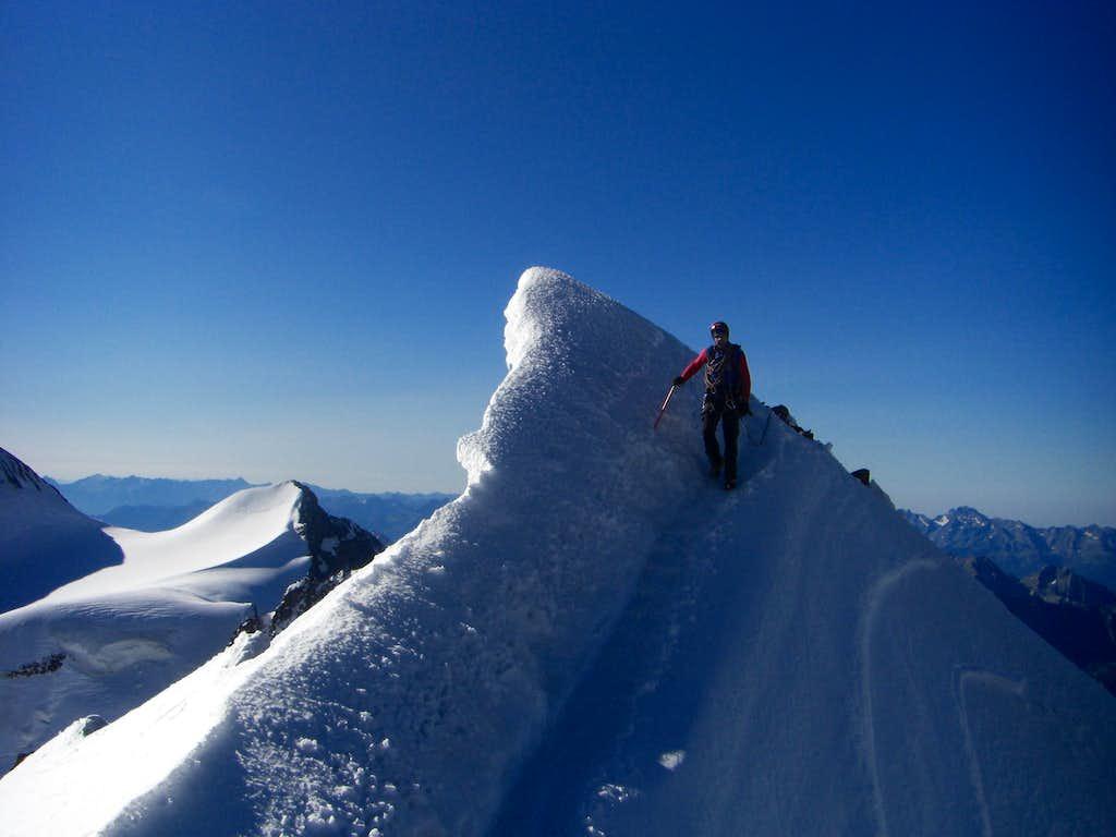 Bernina's ridge