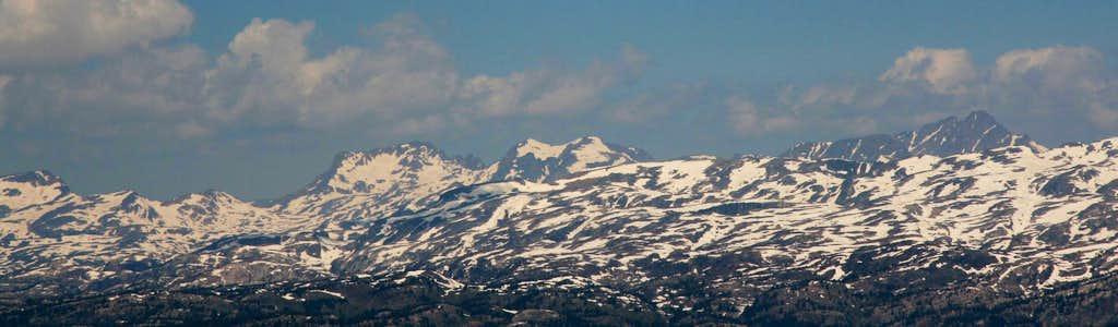 Glacier Peak area panorama