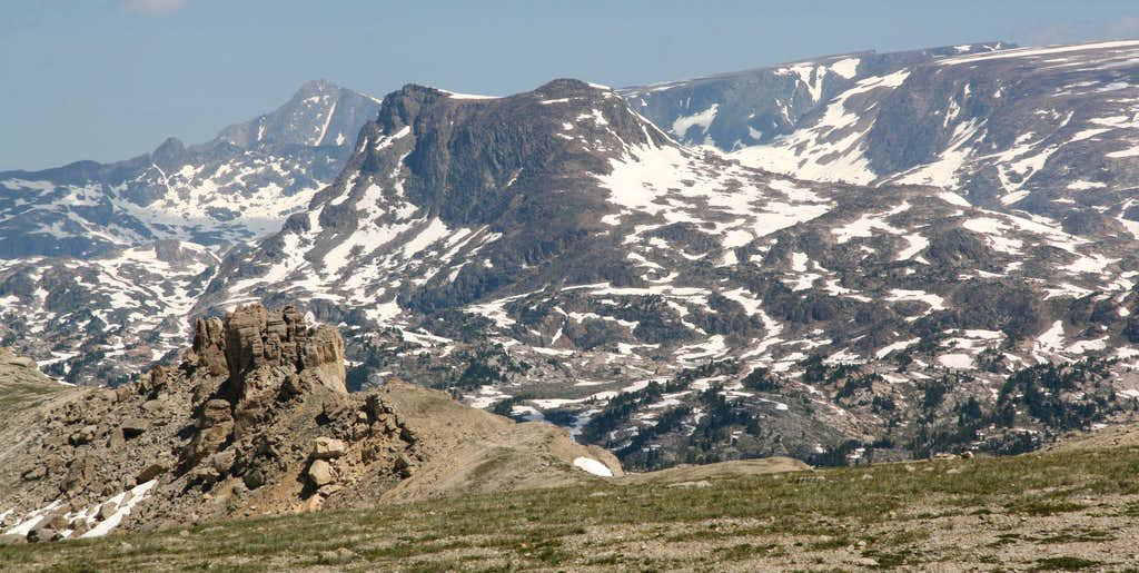 Whitetail Peak, Lonesome Mountain, and the Hellroaring Plateau
