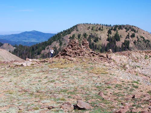 Summit of Sand Mountain