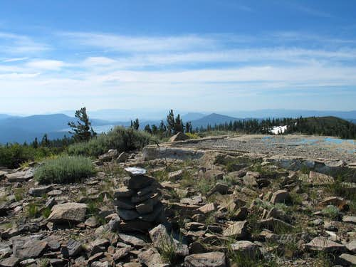 Summit of Mt. Ingalls