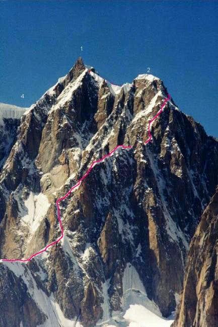 The Frontier or Kuffner ridge...