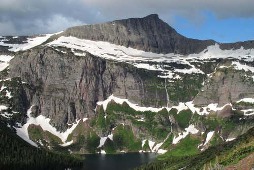 Razoredge Mountain and Medicine Grizzly Lake