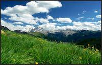 Marmolada view