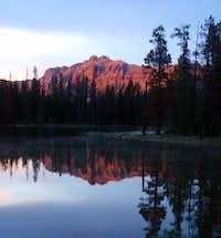 Sundown at Hayden Peak
