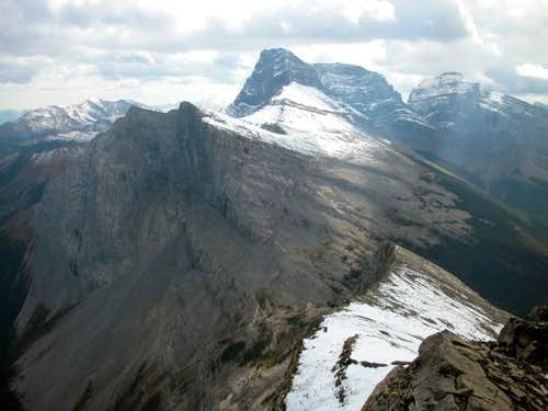 Mount Lougheed as seen from...
