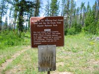 Main Trailhead Sign