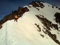 Final ridge to Matterhorn's summit