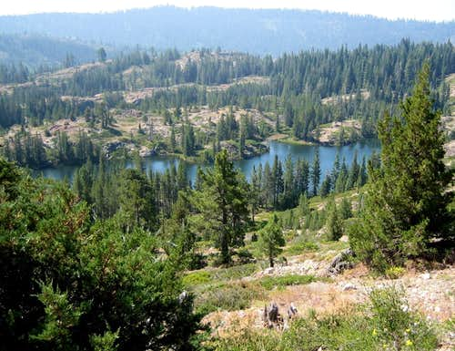 SP Lakes from Cisco Butte
