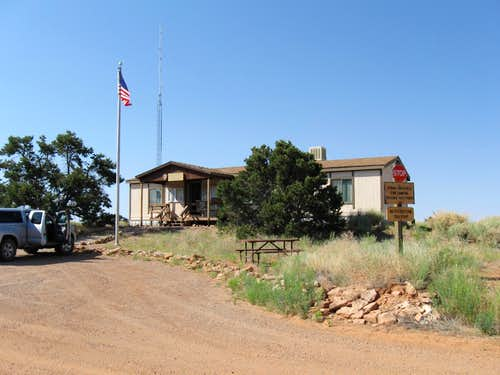 The Hans Flat ranger station