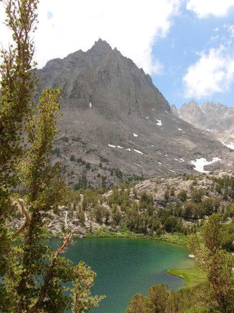 Sixth Lake and Two Eagle Peak