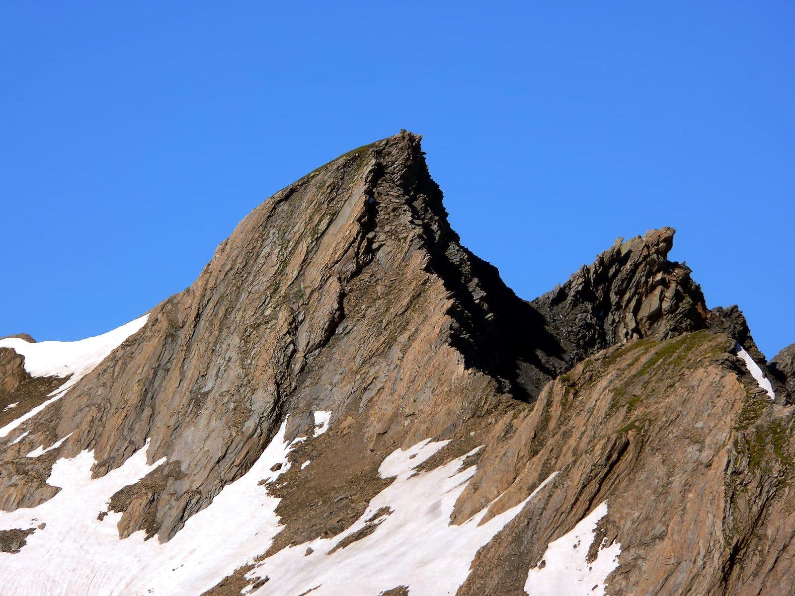 <font color=blue>▲</font>Aiguille de Leisasse or Lesache