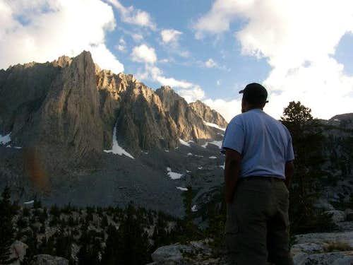 Rod ponders Temple Crag