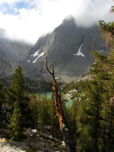 Temple Crag rising above Third Lake