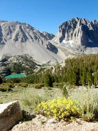 Big Pine Lake and Buckwheat