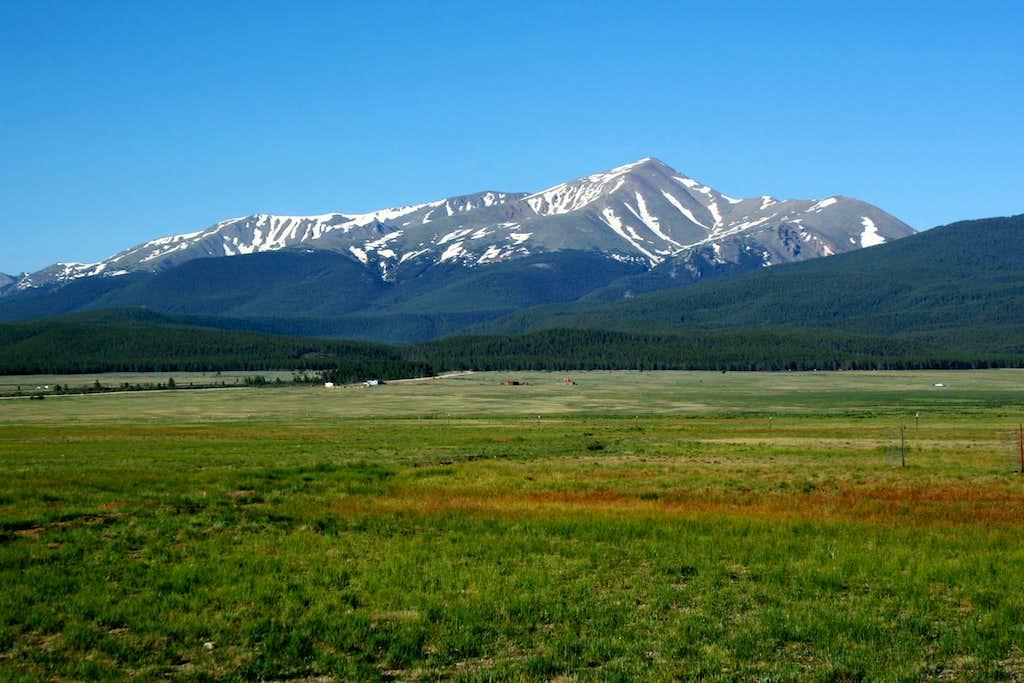 Mt. Elbert from US 24