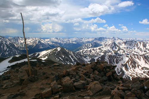 Mt. Elbert Summit - 14,433\'
