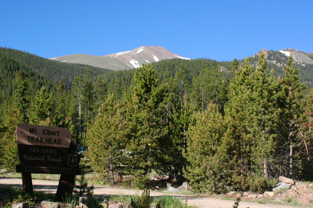 Mt. Elbert Trailhead